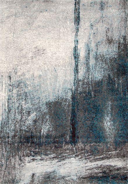 Rugs USA Grey Albina Midnight Fog Abstract Rug