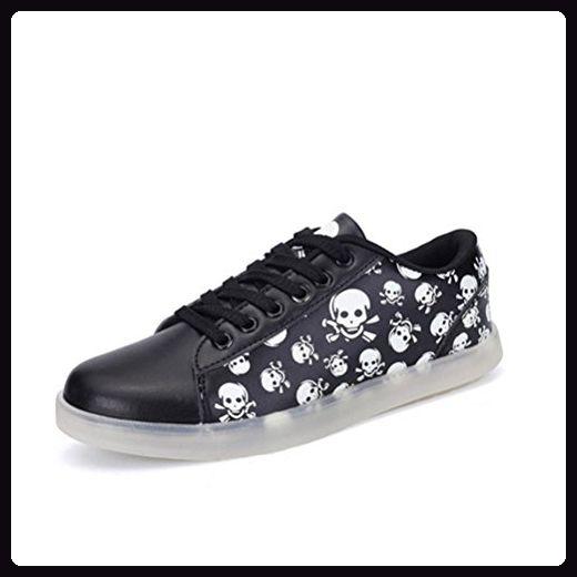 (Present:kleines Handtuch)Schwarz EU 43, Farbe Outdoorschuhe Laufschuhe Damen Schuhe Mode Sportschuhe für Kinder Nacht Licht und mode JUNGLEST® Herren S - Sneakers für frauen (*Partner-Link)