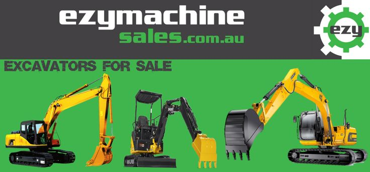 Find new and used Excavators for sale in Australia on ezymachinesales.com.au