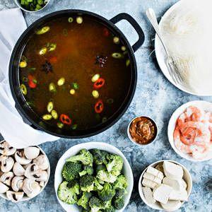 Hot pot | K-Ruoka #aasialainen #hotpot #onepot #syödäänyhdessä