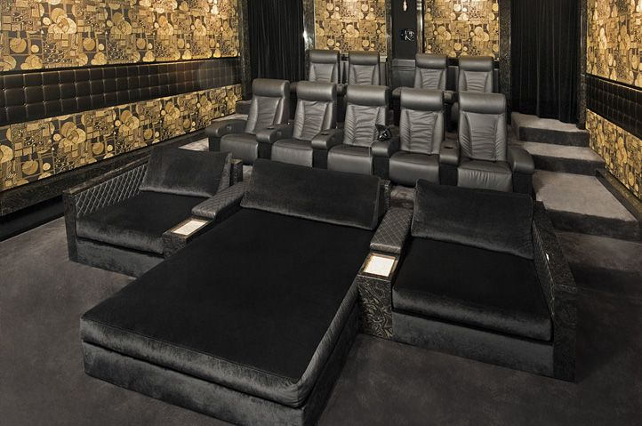 17 best images about home theater decor on pinterest. Black Bedroom Furniture Sets. Home Design Ideas