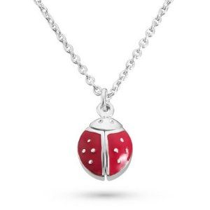 Personalized Sterling Girl's Kit Heath Lady Bug Necklace Gift Things Remembered. $85.00