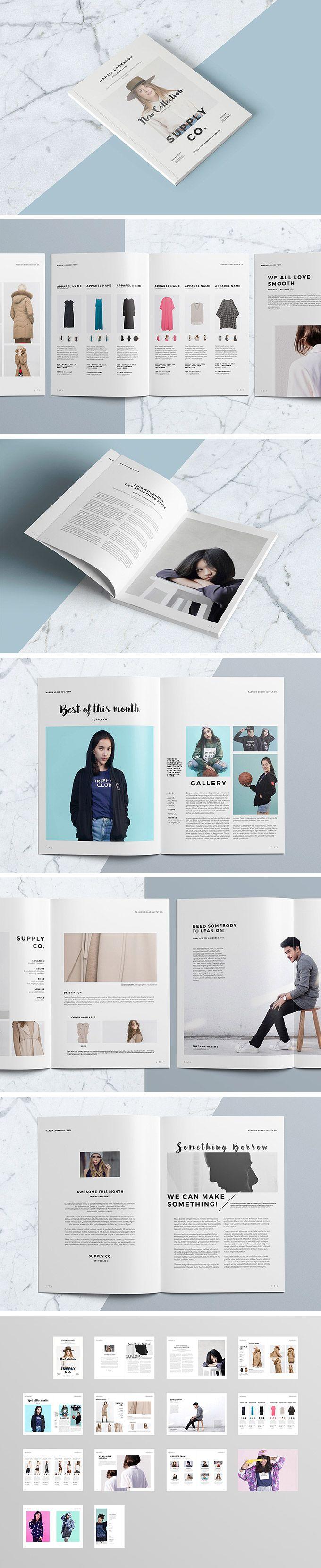 InDesign Lookbook Template - download freebie by PixelBuddha