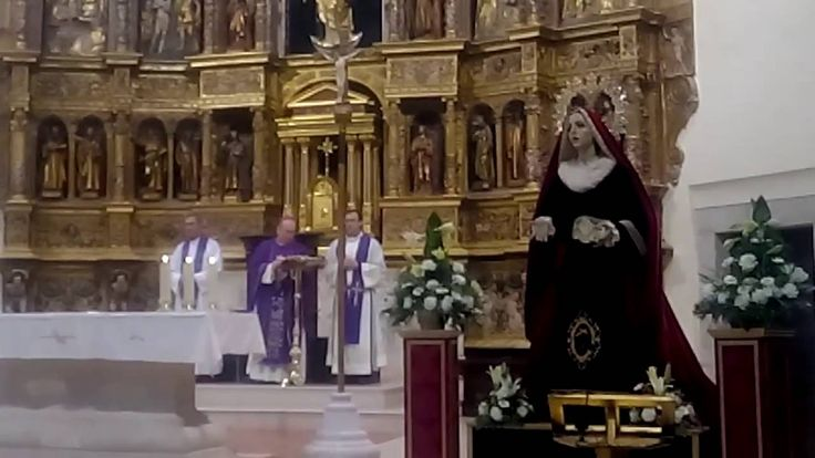 Misa Exaltacion de la Cruz en Tarancón 28 02 2016