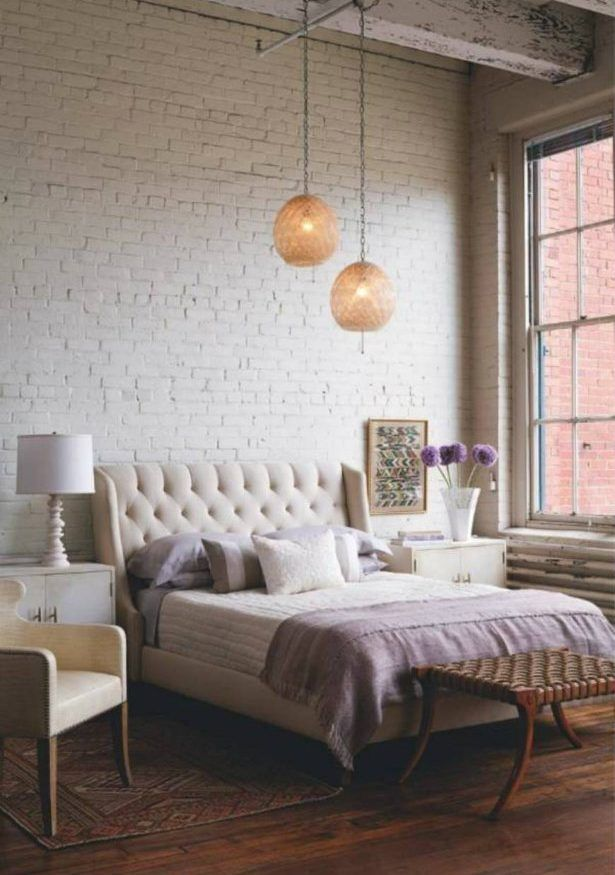 Bringing New York Loft Style Into The Bedroom #interiordesign #decor  #loftstyle #industrialstyle