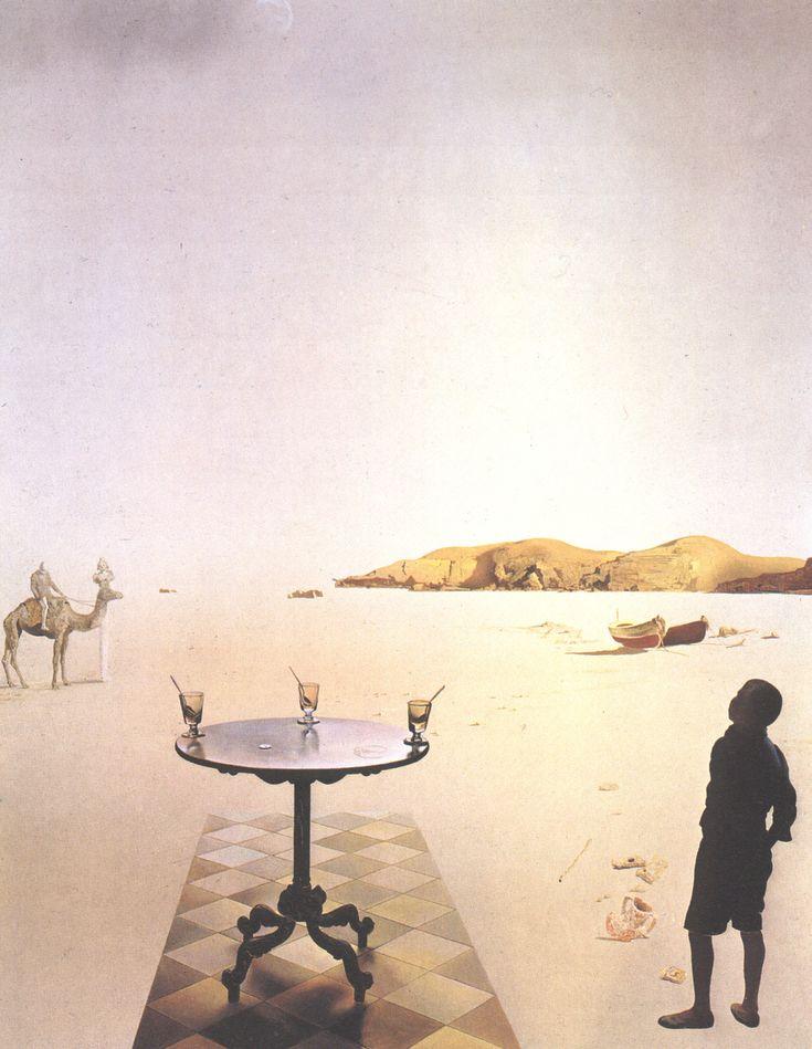 Sun Table, 1936, Salvador Dali Medium: oil, panel