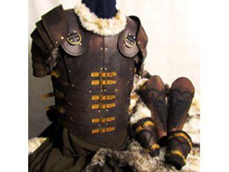 Armatura di cuoio antica Roma