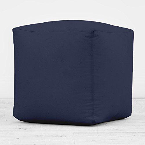 100% Cotton Navy Blue Cube Foot Stool Seat Pouffe Bean Bag Beanbag With Filling Bean Bag Warehouse http://www.amazon.co.uk/dp/B00NNQMSZS/ref=cm_sw_r_pi_dp_xu4Avb1HW21EW