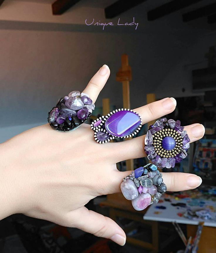 <b>Unique</b> Lady <b>handmade</b> rings - Available #ring #rings ...
