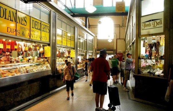 Deli shed, Queen Victoria Market, Melbourne