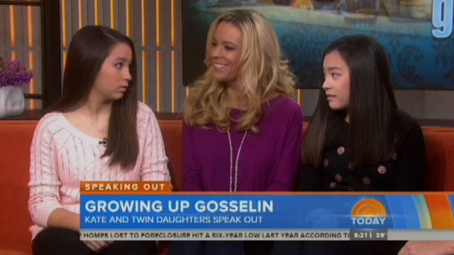 Kate Gosselin's older girls get a bit of payback on Today Show 1/16/14 - hopefully the first of many many events like this to come
