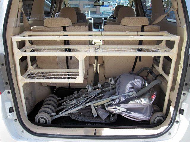 省スペース トランクラック 2011年のイレクター大賞受賞作品を紹介します Diy Life イレクターで できるワクワクを ジムニー Jb23 車 収納 イレクター