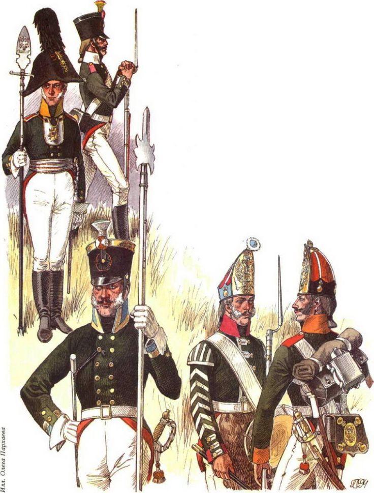 :: Voir le sujet - uniformes de l'armée impériale russe