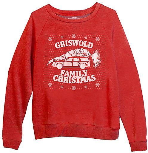 Christmas Vacation 'Family Christmas' Sweater - Juniors