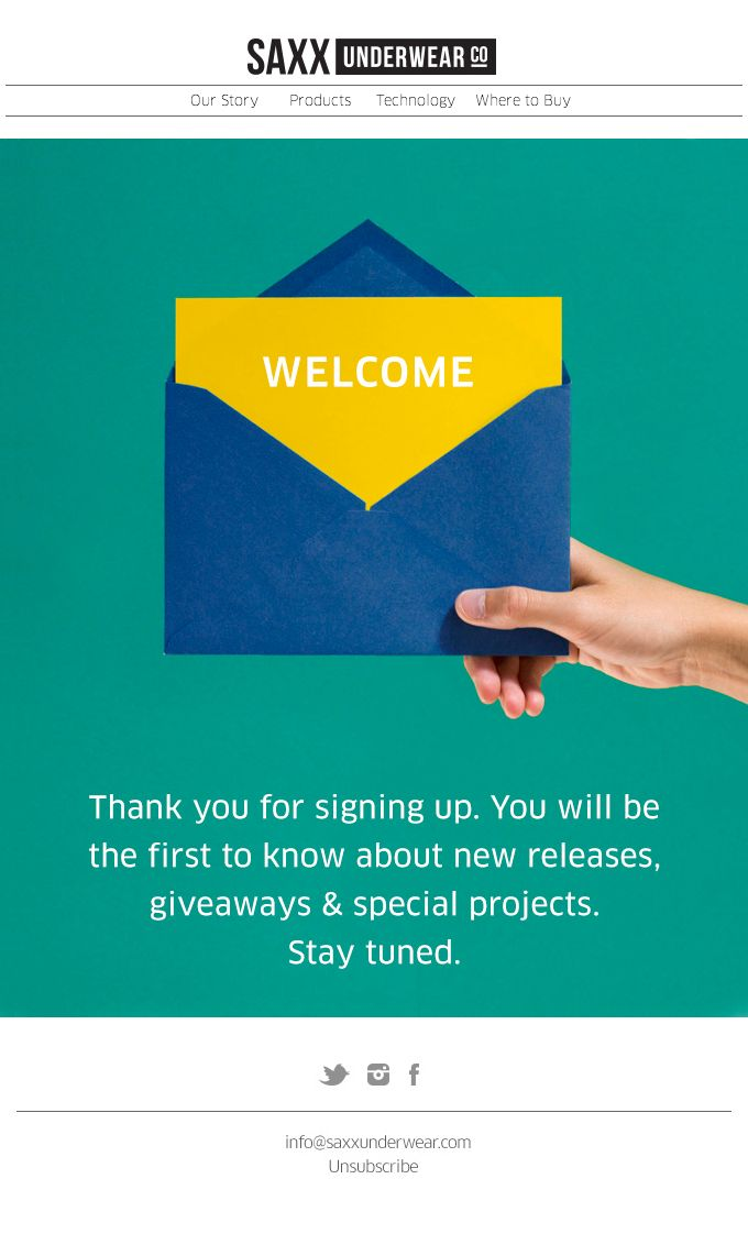 15 best Welcome Emails images on Pinterest | Email design ...