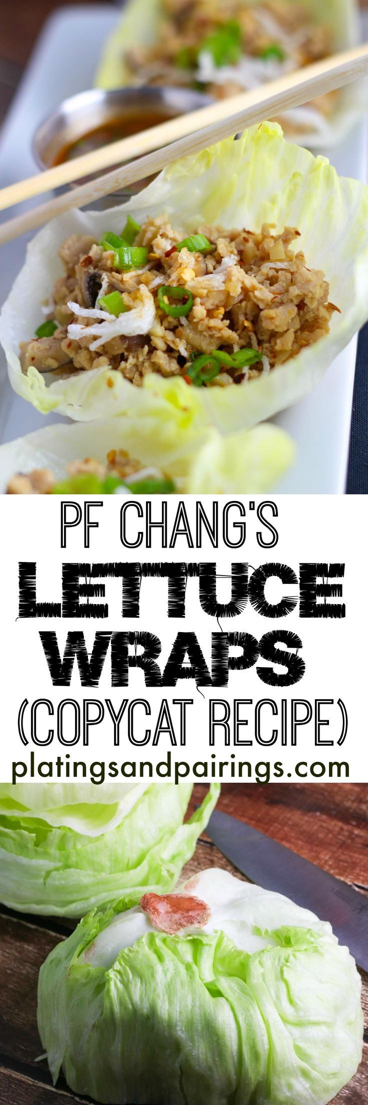 A DEAD RINGER for PF Chang's - Plus - How to get PERFECT lettuce cups! No more holes!!!