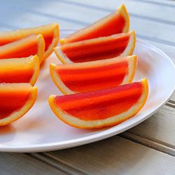 Jelly orange wedges   Food24