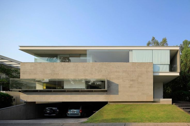 World of Architecture: Amazing Glass and Concrete Godoy House in Mexico | #worldofarchi #architecture #modern #contemporary #Mexico #house #home #facade