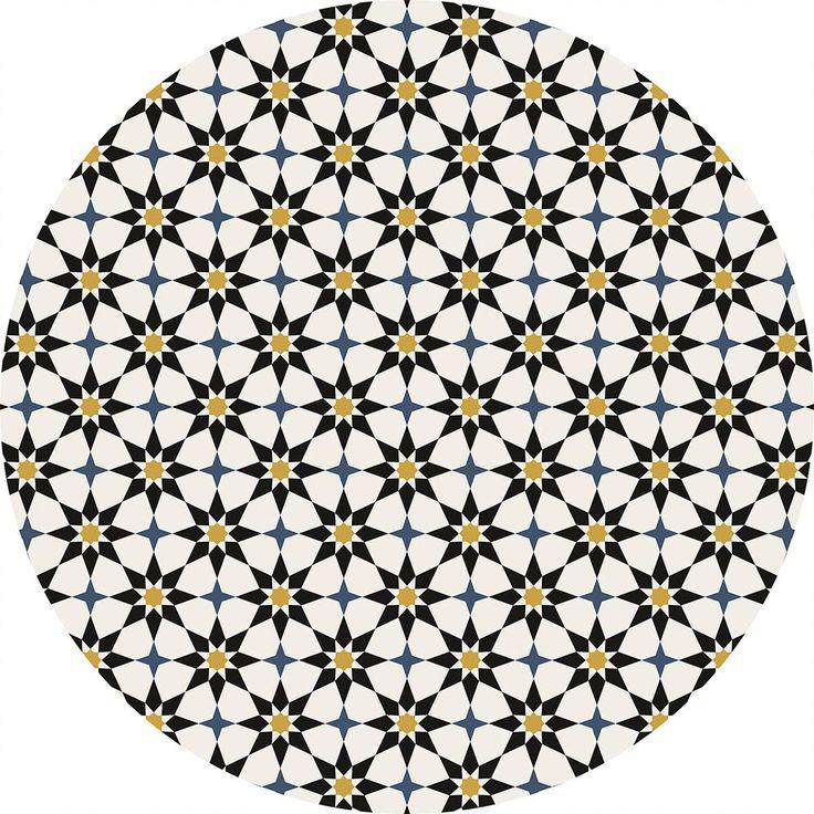 Tempaper Soleil Moroccan Spice 4 ft. x 4 ft. Indoor