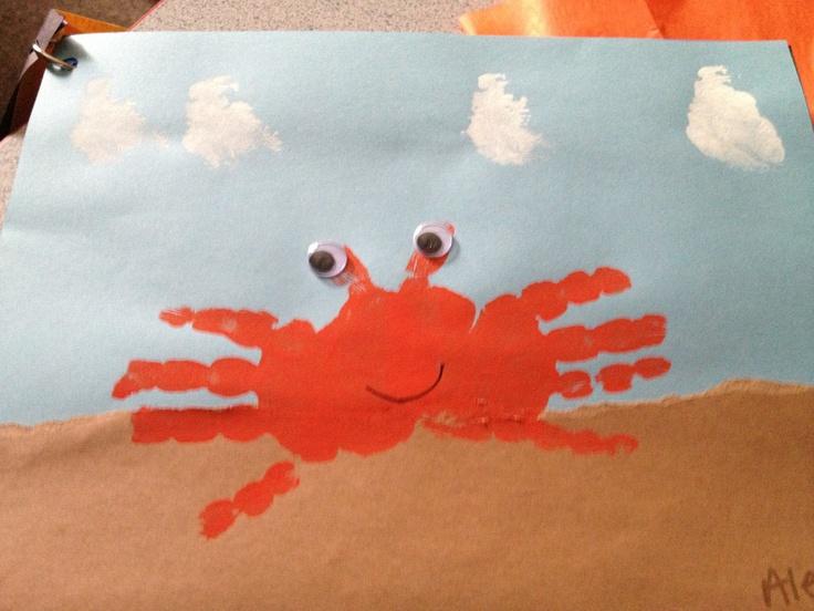 Crab maken groep 1/2
