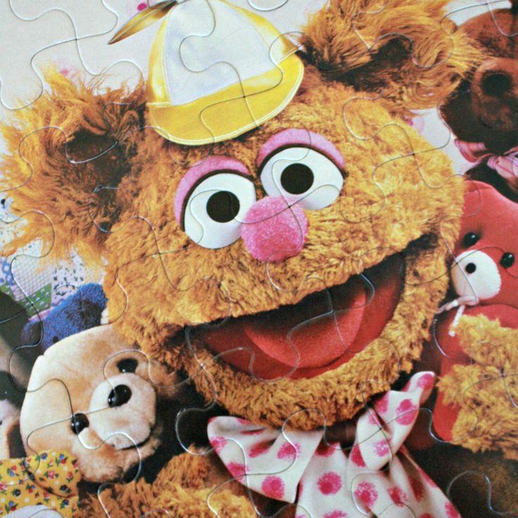 Casse-tête de Bébés Muppet 1984, Casse-tête 60 pièces, Casse-tête Fozzie, Casse-tête enfant retro, Jeu Milton Bradley, Premier casse-tête de la boutique PastelEtPixel sur Etsy