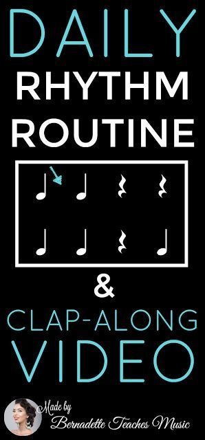 Rhythm Routine - Bernadette Teaches Music