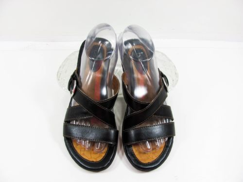 800b875eefc1fe Boc-Born-Concept-Women-Black-Slides-Sandal-Shoe-Size-7M-EUR-37-5-Pre-Owned