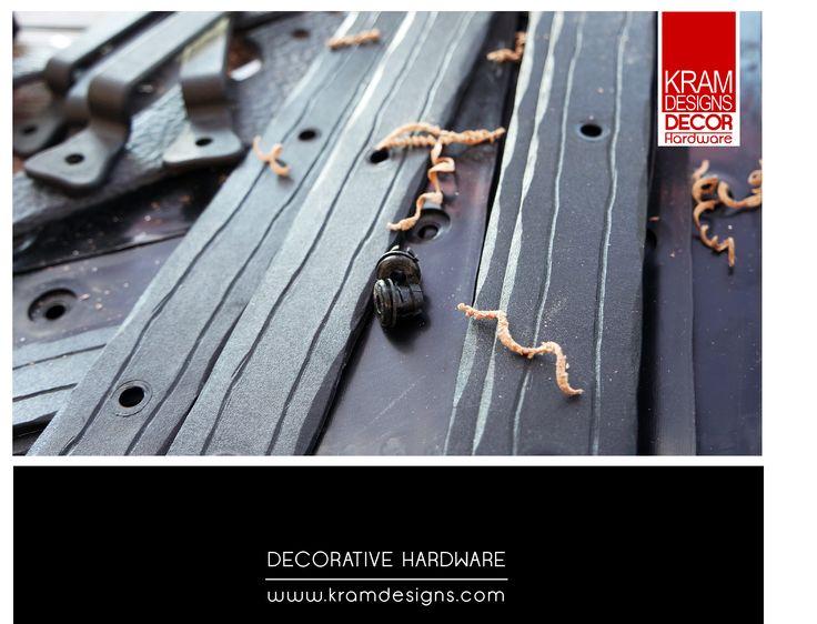 Decorative straps from Kram Designs Decor Hardware range.