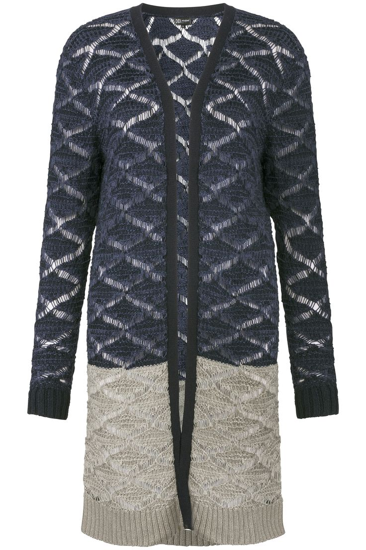 Glamping | Fall collection | Cardigan | Blue | Grey