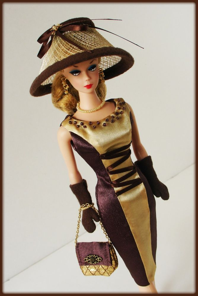 OOAK Fashions for Silkstone / Vintage barbie / Fashion Royalty -- With ZIPPER