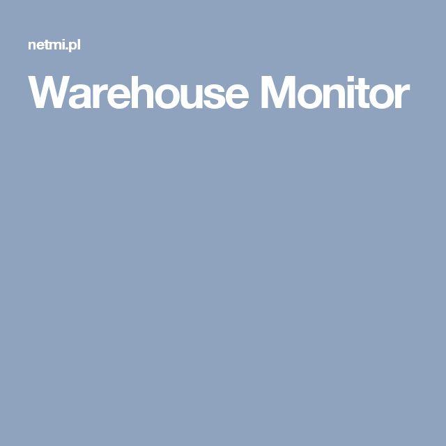 Warehouse Monitor