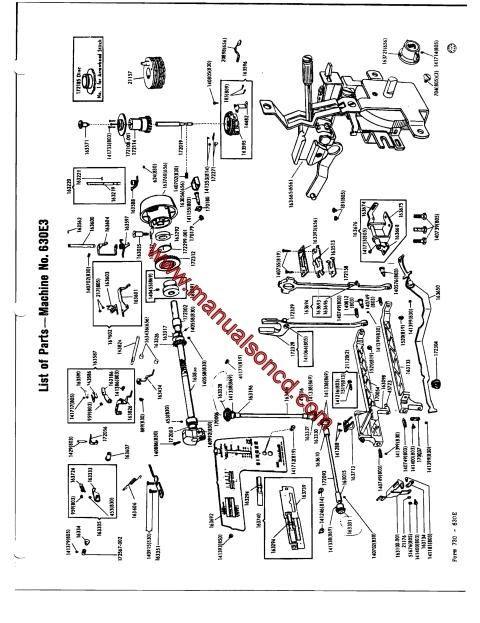 Mejores 1428 imágenes de Sewing Machine Manuals en