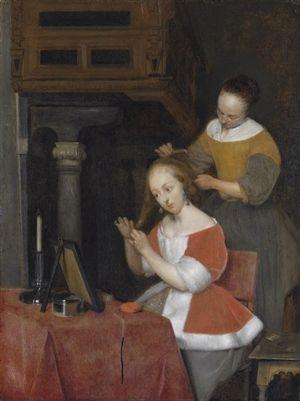 Vermeer morning toilette