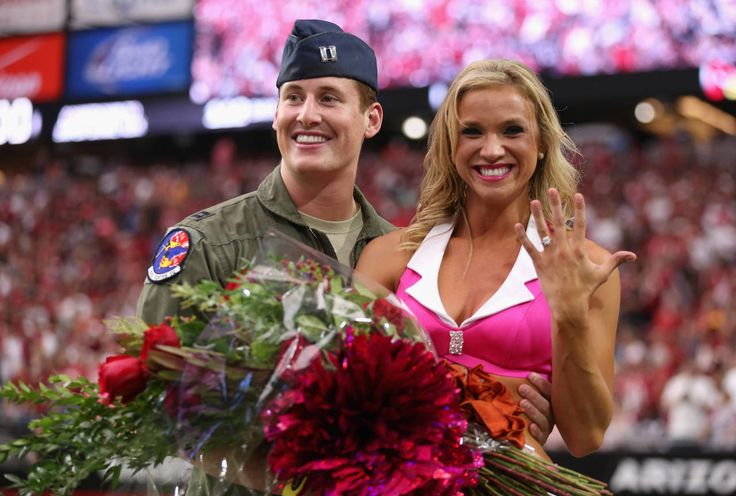 The Best proposals at athletic events