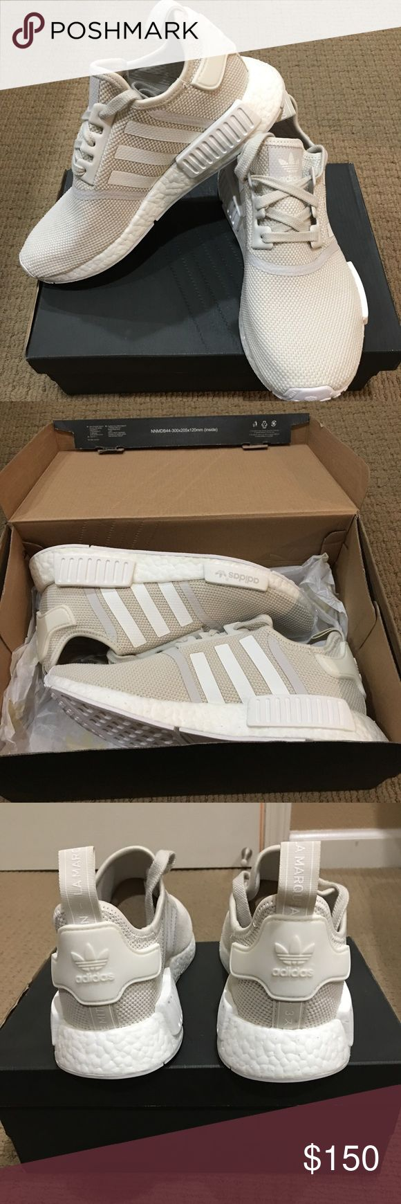 Brand New Adidas NMD R1 - Women's size 8 Brand new authentic Adidas NMD R1.  Never worn.  Color:  Off white.  Size: 8 Women's.  PRICE IS FIRM.   NO TRADES. adidas Shoes Athletic Shoes