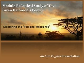 Gwen Harwood Poetry: Mastering the Personal Response