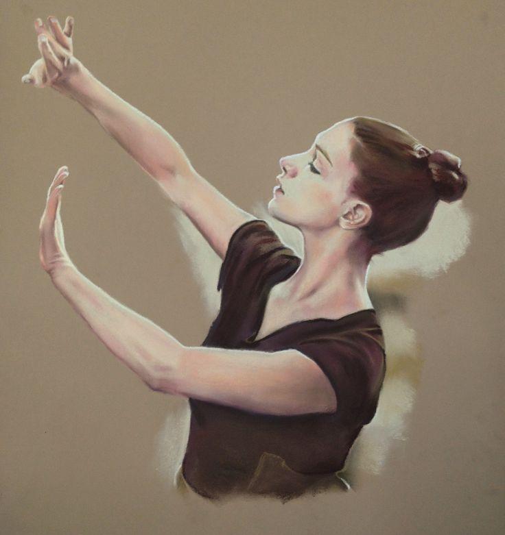 A découvrir au 10ème Salon de Peinture toutes techniques sur www.myrankart.com  Danse Viii by Michèle Rais