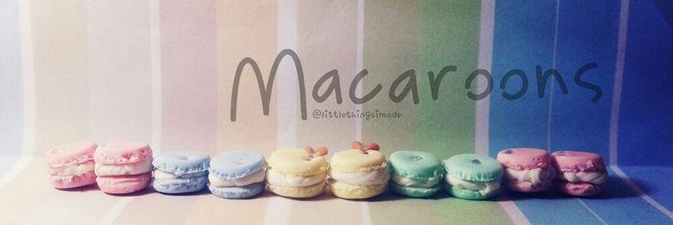 Macarons #coldporcelain