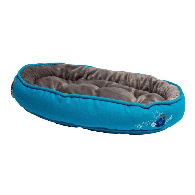 Rogz Catz Snug Podz Cat Bed - Blue Floral