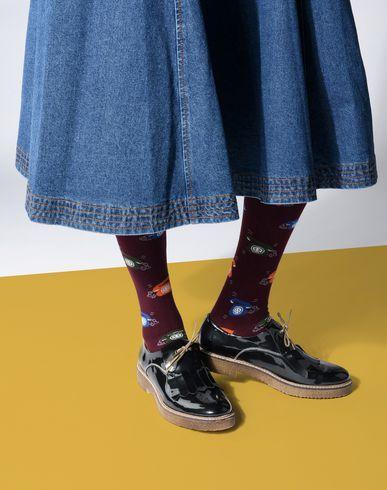 GALLO Short socks - slate blue
