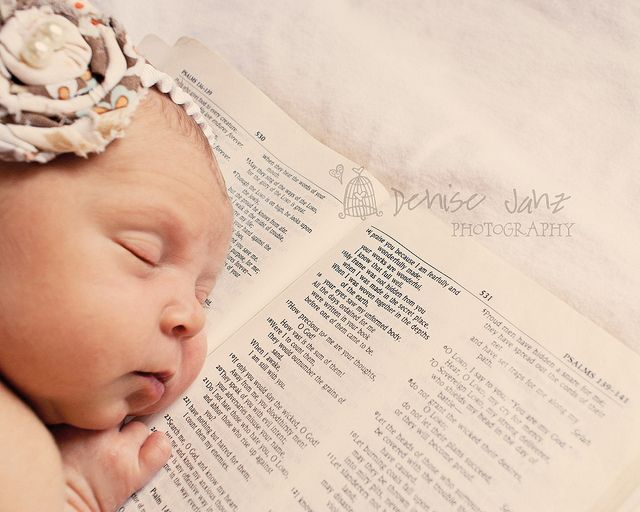 """For you created my inmost being; you knit me together in my mother's womb. I praise you because I am fearfully and wonderfully made; your works are wonderful, I know that full well."" Psalm 139: 13-14