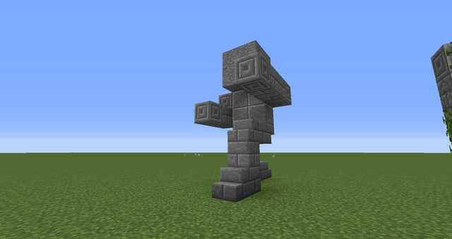 More Small Statues With Images Minecraft Statues Statue