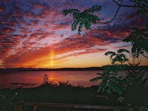 Sunrise over the ocean, Protection Island Nananimo with indoor pool only $674,000 www.RKirby.ca