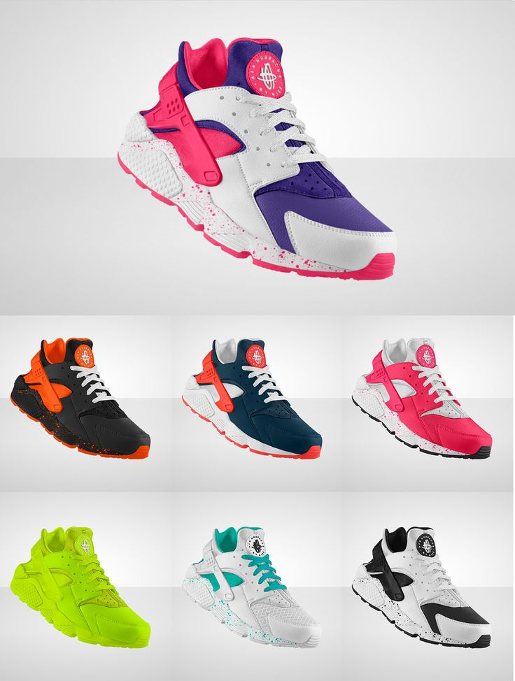 Nike Air Huarache Run iD...The neon one definetly