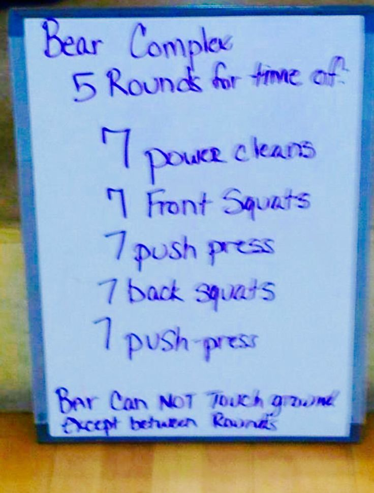 #CrossFit Workout