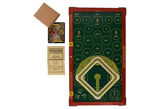 Tudor Tru-Action Electric Baseball Game on OneKingsLane.com
