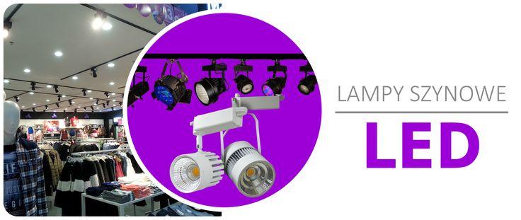 #lampy szynowe LED# @ http://www.unilight.com.pl/pl/wybierz-produkt/lampy-szynowe.html  Reflektor Szynowy LED