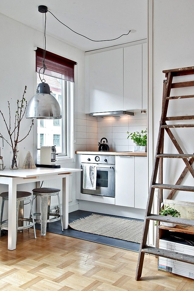 Small areas of the day: 31m ² and an alcove