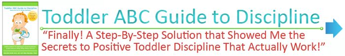Toddler ABC Guide to Discipline: Free Printable Sibling Behavior charts for Toddlers and Preschool Ages 1 to 5