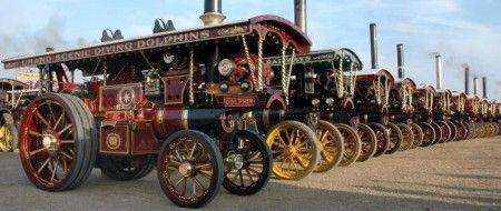 Great Dorset Steam Fair held annually in August.